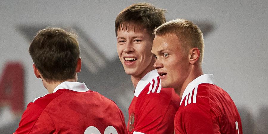 Молодежная сборная России обыграла Северную Ирландию в отборе на Евро-2023