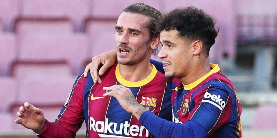 СМИ: «Барселона» заплатит «Ливерпулю» 20 миллионов евро, если Коутиньо сыграет 100 матчей за клуб