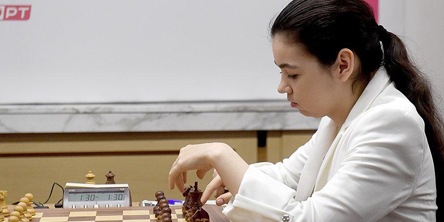 Лагно и Горячкина сыграли вничью на турнире претенденток