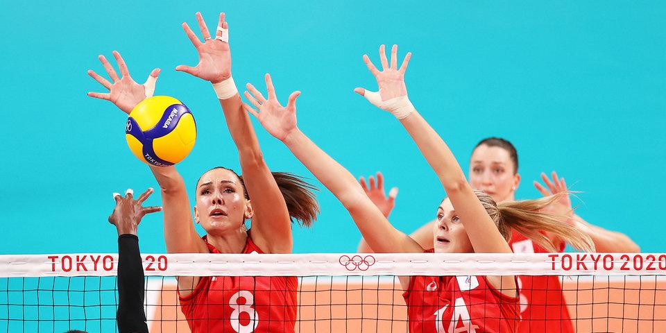 Российские волейболистки завершили свое выступление на Олимпиаде