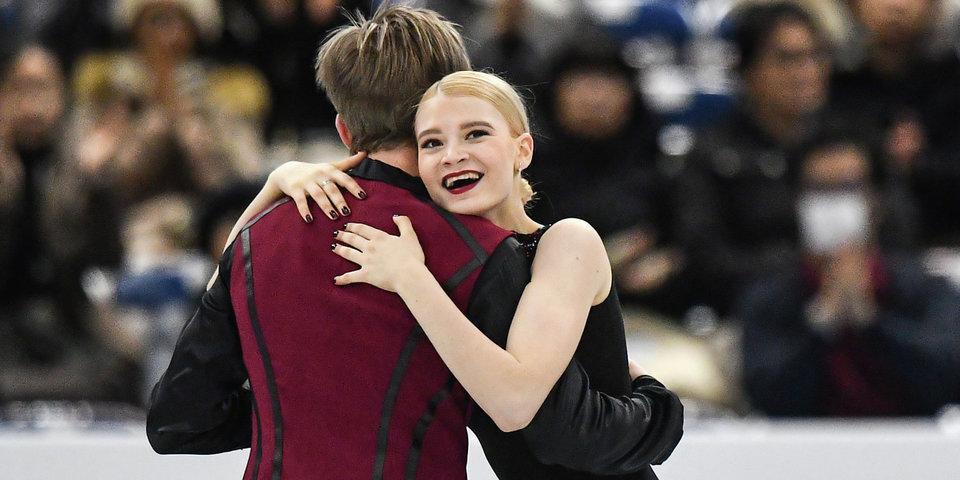 Россияне Скопцова и Алешин выиграли юниорский финал Гран-при в танцах
