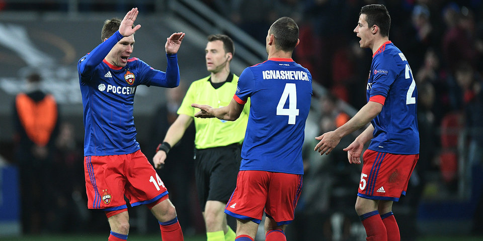 ЦСКА заработал около 20 миллионов за выступление в Лиге чемпионов и Лиге Европы в этом сезоне