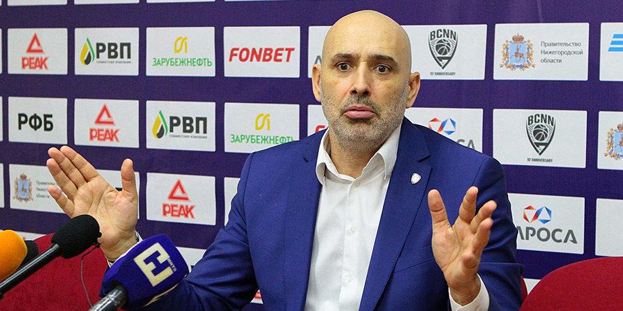 Зоран Лукич: «Химки» прилетели и хорошо нас помяли»