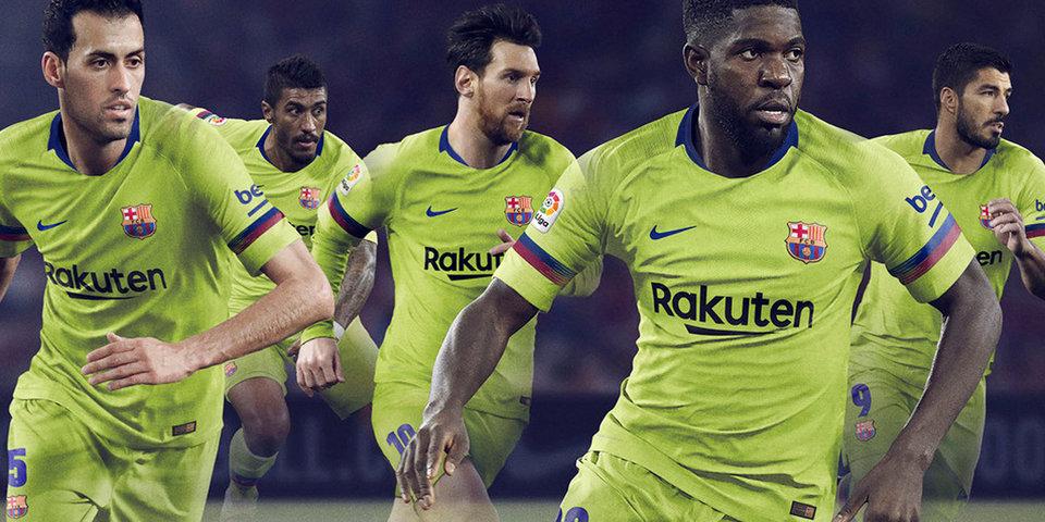 «Барселона» вернула счастливые цвета. Самые необычные гостевые формы топ-клубов