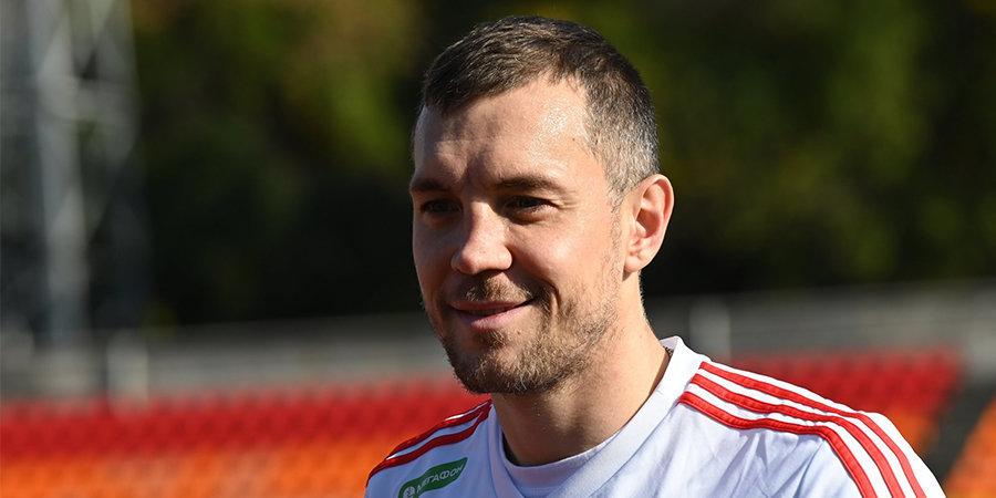 Дзюба обратился к Витселю после матча сборных России и Бельгии