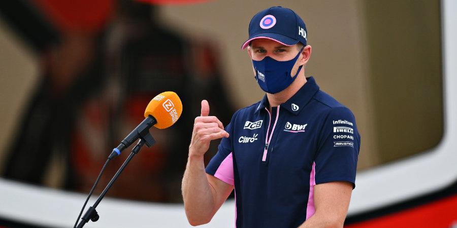 Хюлкенберг стал резервным пилотом команды «Астон Мартин»