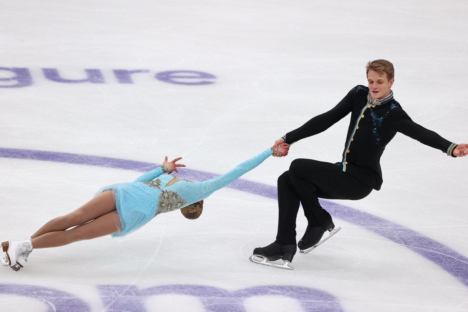 Бойкова и Козловский — победители этапа Гран-при в Москве