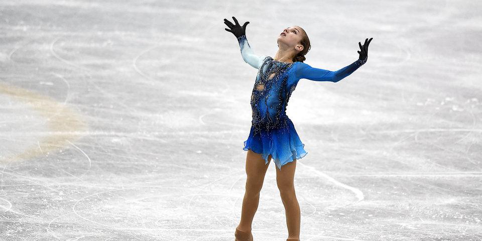 Трусова впервые в истории женских турниров исполнила четверной флип
