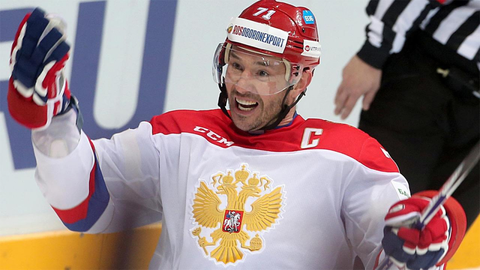 Ковальчук, Мозякин и Дацюк — в расширенном составе сборной России на домашний этап Евротура