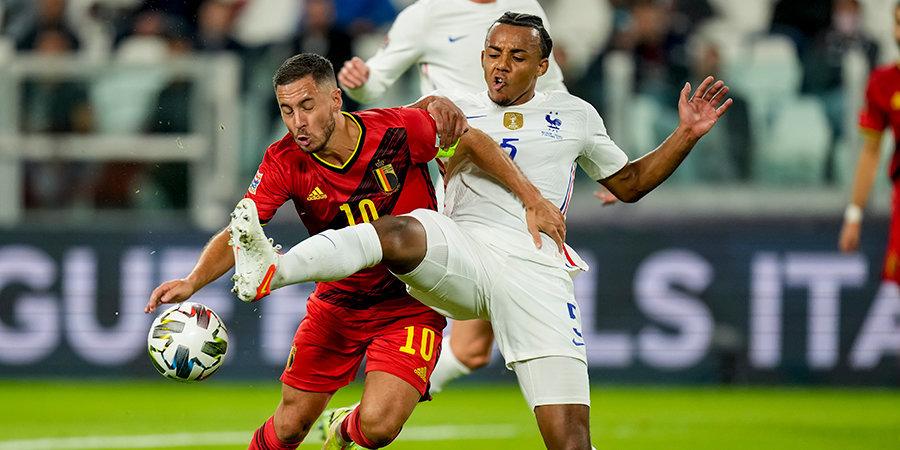 Азар избежал серьезной травмы в матче с Францией