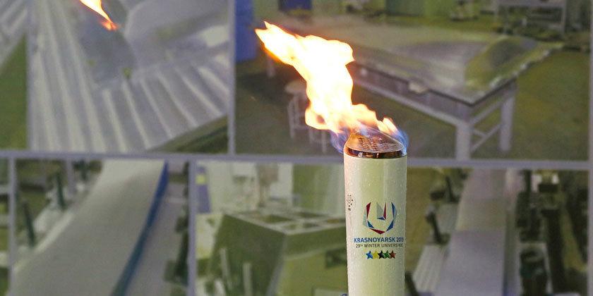 Огонь Универсиады посетит форум «Россия – спортивная держава» в Ульяновске