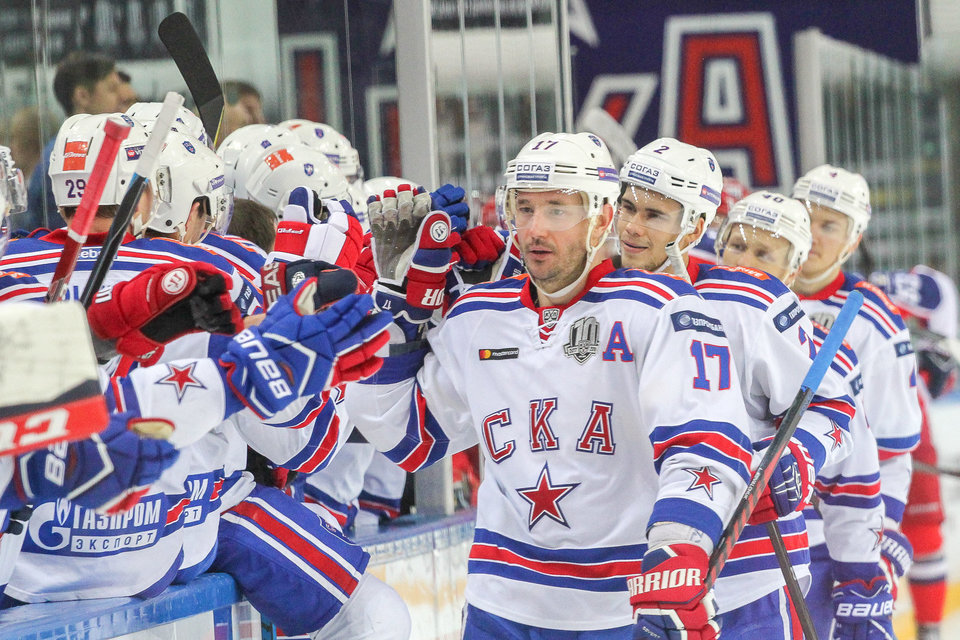 СКА оказался сильнее «Йокерита» в матче под открытым небом в Хельсинки