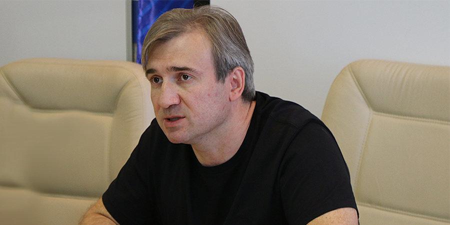 Александр Харламов: «Надеюсь, что через два года в Нижнем Новгороде будет новый Дворец спорта. Его «Торпедо» давно заслужило»