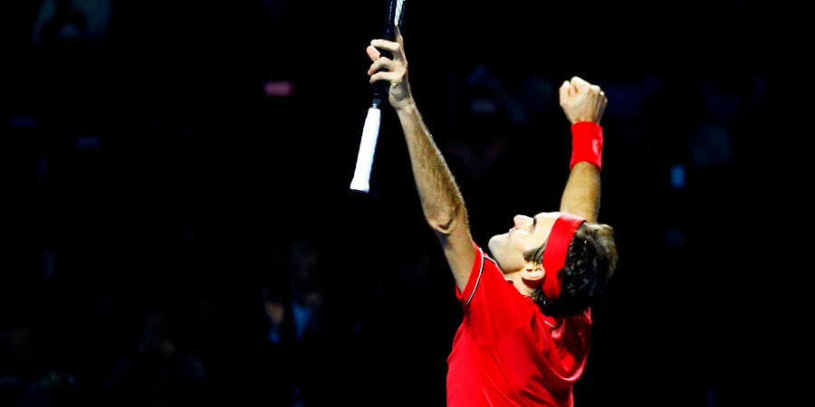 Федерер обыграл Сонего и в 17-й раз вышел в 1/4 финала Уимблдона