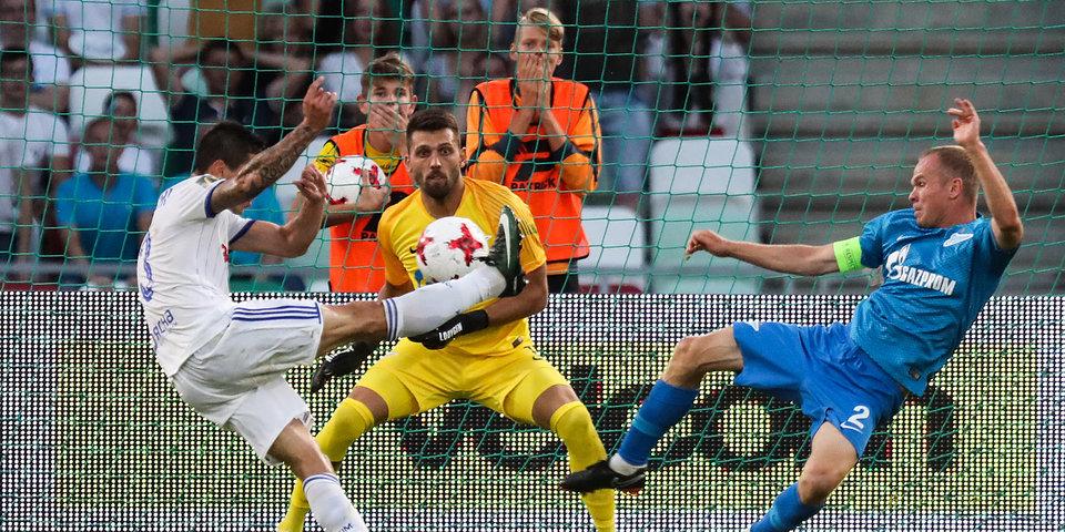«Зенит» пропустил 4 мяча в Минске