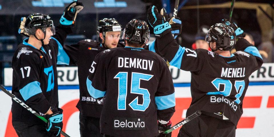 Минское «Динамо» обыграло «Витязь» в матче с девятью заброшенными шайбами
