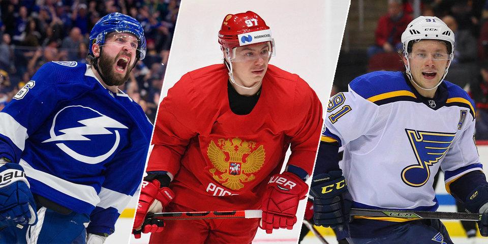 Кто стал лучшим хоккеистом сезона? Спецпроект matchtv.ru