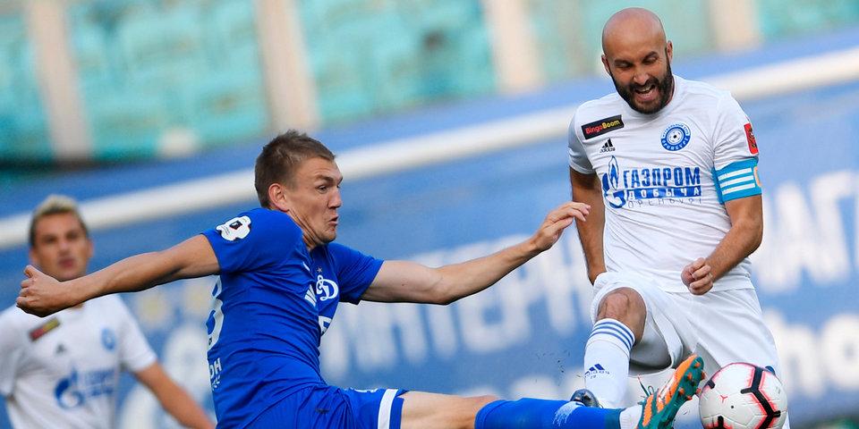 «Динамо» обыграло «Оренбург» благодаря голам Маркова и Луценко