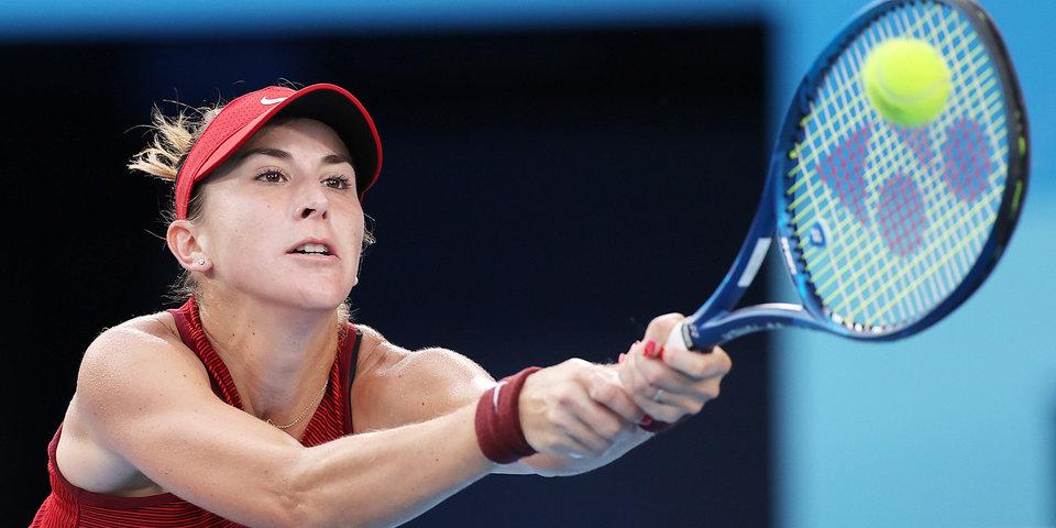 Теннисистка Бенчич рассказала о характере своей травмы
