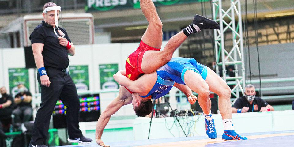 Российский борец греко-римского стиля Гедехаури выиграл серебро на ЧМ