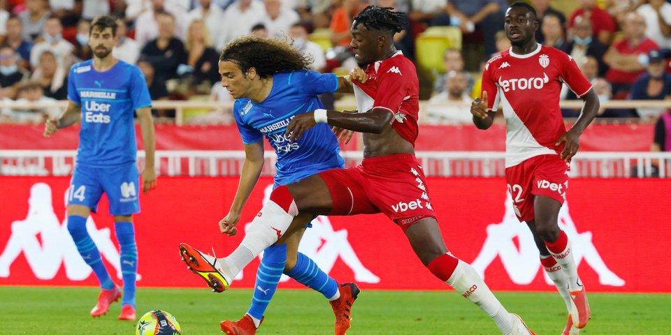Соперник «Локомотива» по ЛЕ «Марсель» обыграл «Монако» без Головина
