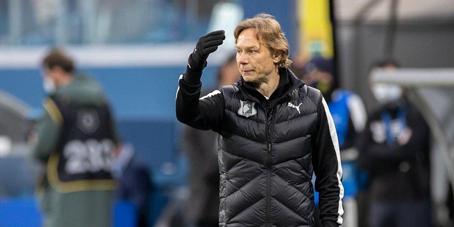 Валерий Карпин: «Обычно через 10 минут после начала игры становится понятно, кому благоволит судья»