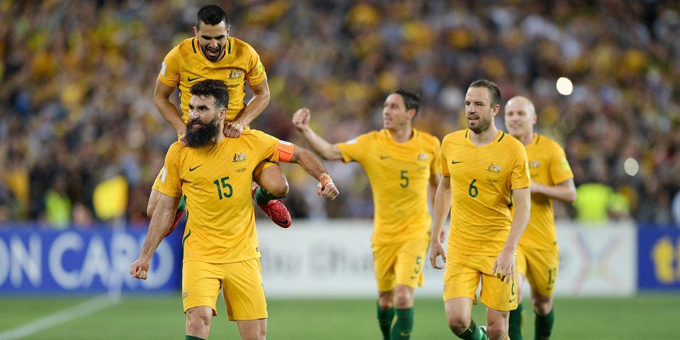 Сборная Австралии разгромила Палестину в матче Кубка Азии