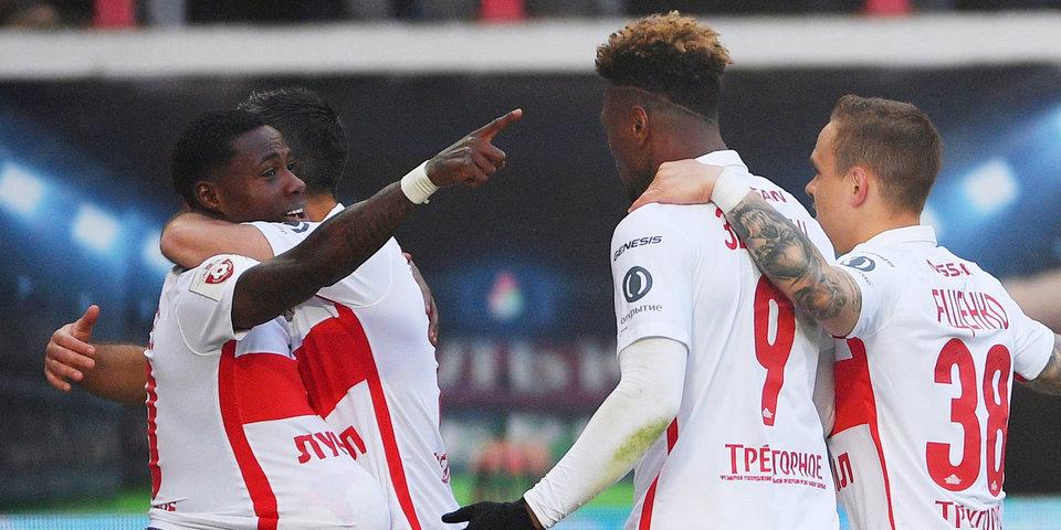 5 голов и 2 удаления! «Спартак» провел первый товарищеский матч на сборах в Австрии