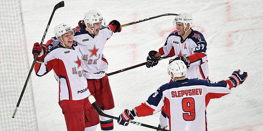 Калинин приговорил свою бывшую команду. ЦСКА вновь обыграл СКА на «Газпром Арене»
