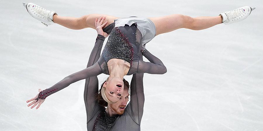 Тарасова и Морозов лидируют после короткой программы на Finlandia Trophy
