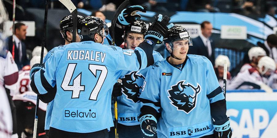 Минское «Динамо» обыграло «Динамо» из Риги, 18-летний голкипер Колосов впервые сыграл «на ноль» в КХЛ