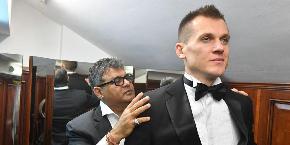 Реброву вручили награду «Джентльмен года»