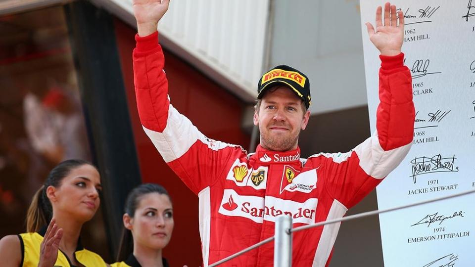 Феттель показал лучшее время на старте Гран-при Бахрейна, Квят – 11-й