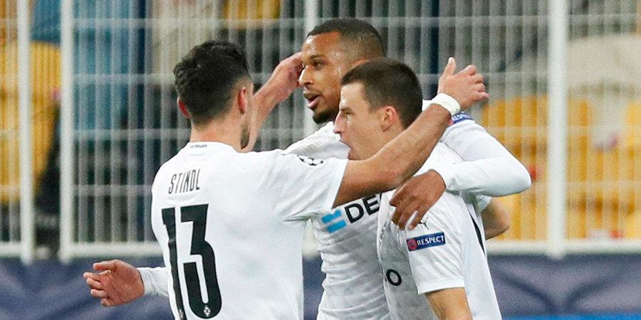 «Боруссия» М забила «Шахтеру» шесть безответных мячей, Плеа оформил хет-трик