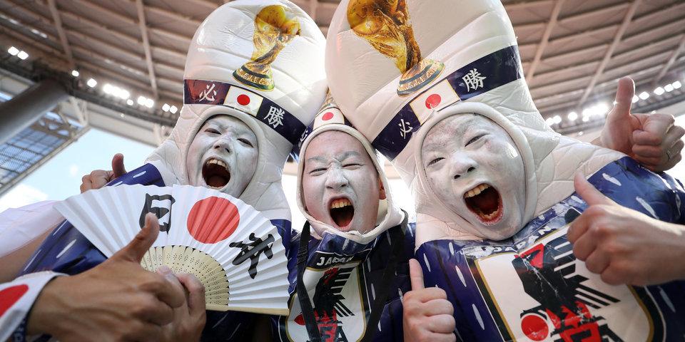 Около трех тысяч японских болельщиков ожидается на матче их сборной с Польшей в Волгограде