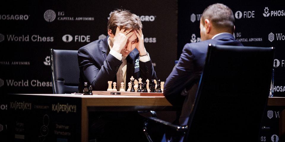 Карякин опустился на 10-е место в рейтинге ФИДЕ