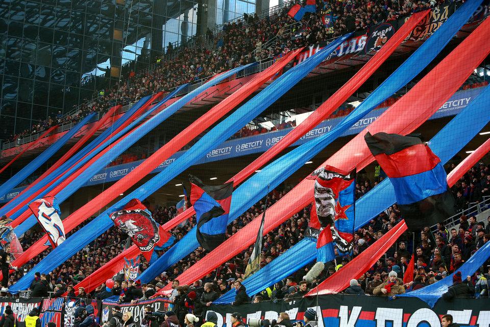 УЕФА оштрафовал ЦСКА на18 тыс. евро