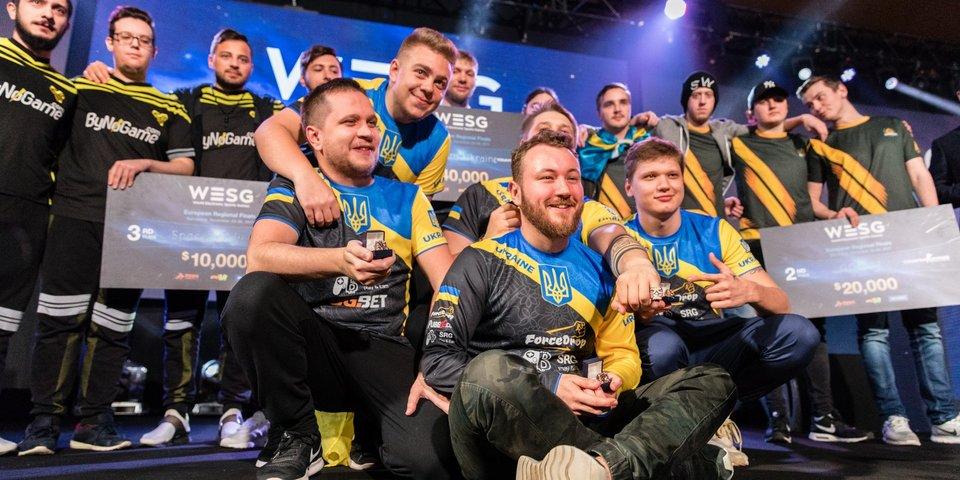 CS:GO: Team Ukraine заняла первое место в региональных финалах WESG 2017