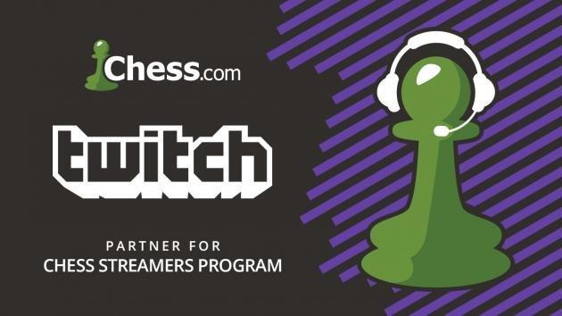 Chess.com и Twitch заключили партнерское соглашение на трансляцию турниров