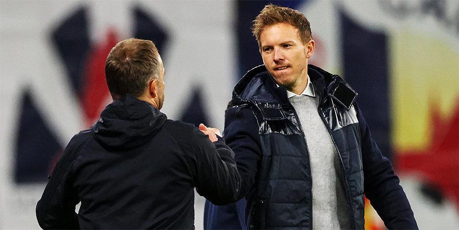Уникальное домино в Германии: «Гладбах», «Дортмунд», «Айнтрахт», сборная, «Бавария» (и, видимо, «Лейпциг») меняются тренерами