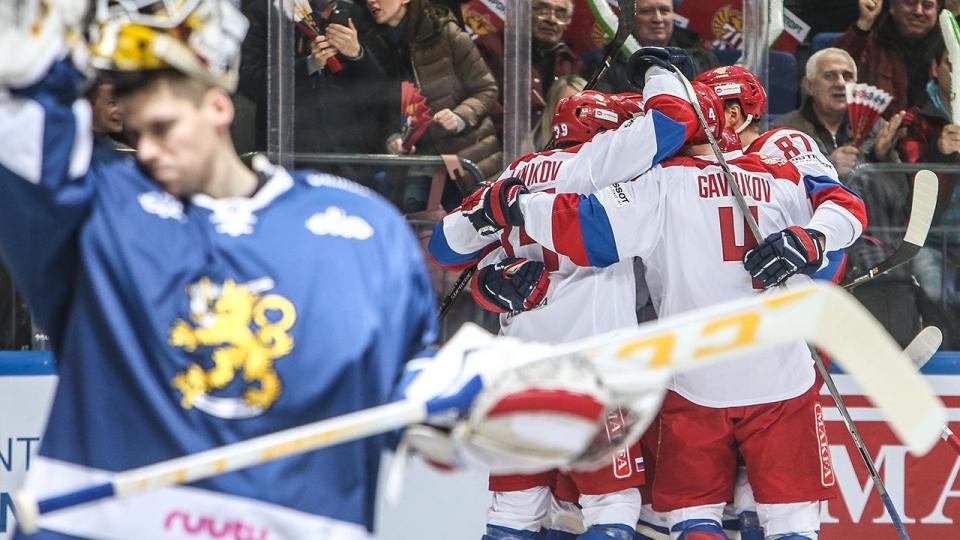 Россия одолела Финляндию в матче Евротура