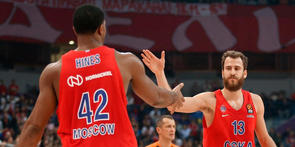 ЦСКА встретится с «Барселоной» на старте нового сезона Евролиги, «Химки» — с «Олимпиакосом»