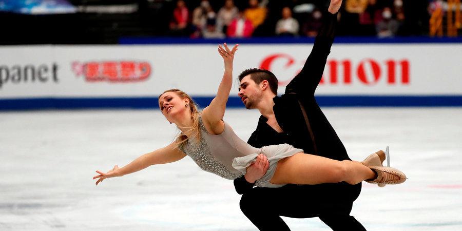 Шимека и Фрейзер выиграли соревнования пар на Гран-при США, Хаббелл и Донохью — лучшие в танцах