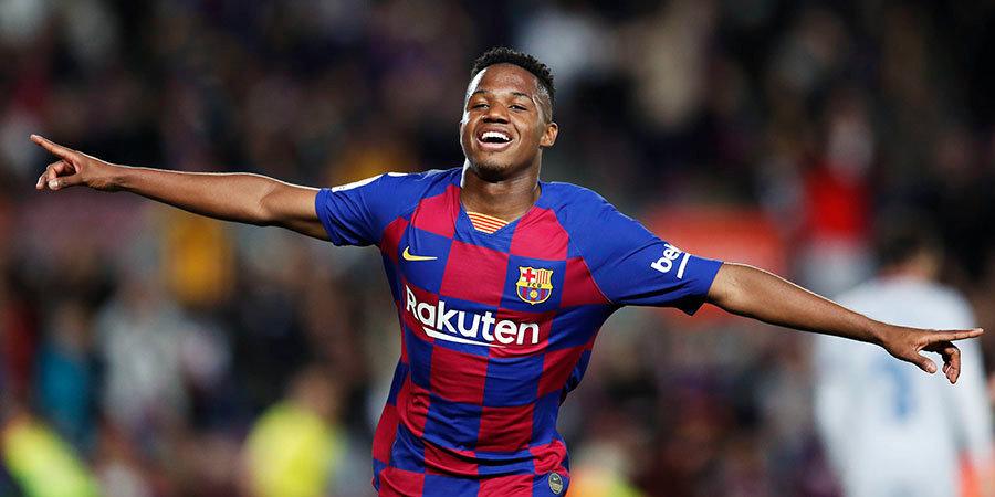 «Барселона» обыграла аутсайдера Ла Лиги «Леганес» и увеличила отрыв от «Реала» до пяти очков