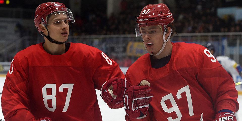 Объявлен состав российской команды хоккеистов на матч со Словакией