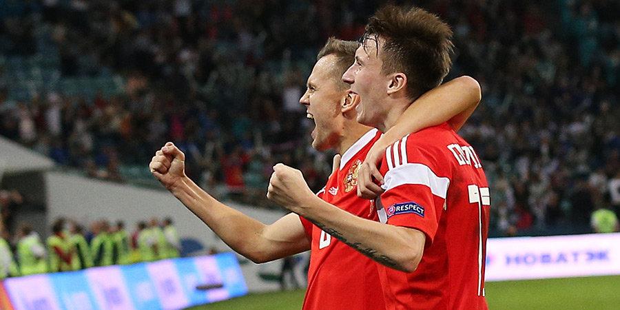 Денис Черышев — о матче с Испанией на ЧМ-2018: «Не могу сказать, что терпели. У нас были хорошие подходы»