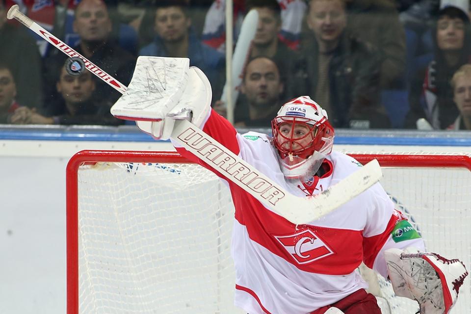 Бывший вратарь «Спартака» стал второй звездой дня в НХЛ