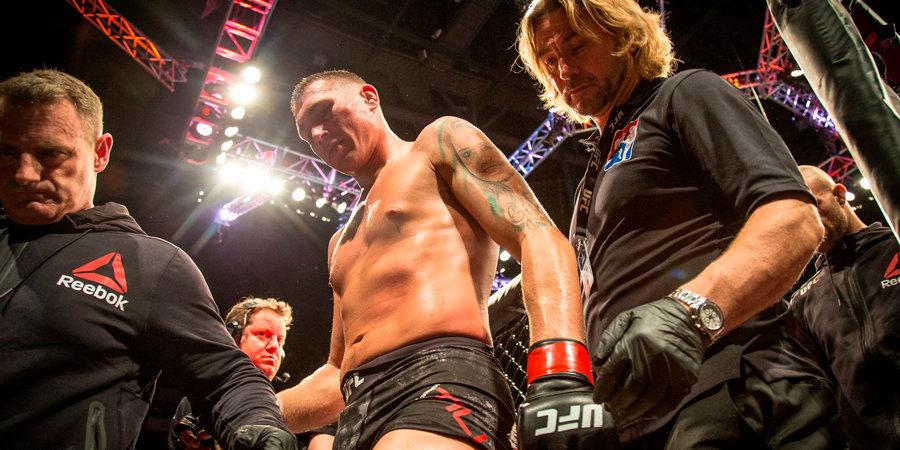 Боец UFC арестован за хулиганские действия