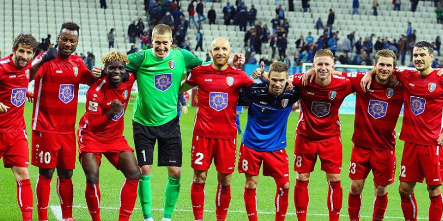 «Тамбов» стал победителем первенства ФНЛ, «Нижний Новгород» сыграет в стыковых матчах