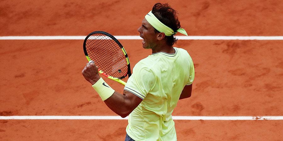Надаль впервые с 2014 года обыграл Федерера и вышел в финал «Ролан Гаррос» в 12-й раз